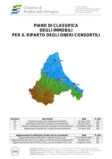 0 -Piano di classifica degli immobili per il riparto degli oneri consortili (testo) 2016/2